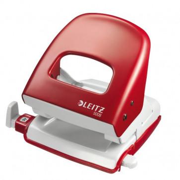 Perforatore Leitz 5008 rosso pastello 5008-03-25