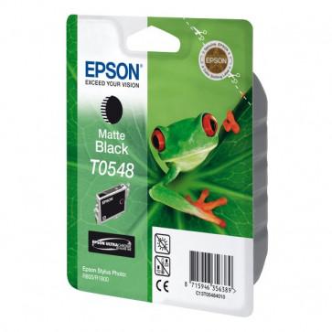 Originale Epson C13T05484010 Cartuccia inkjet Hi-Gloss blister RS STYLUS PHOTO nero opaco
