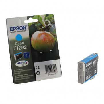Originale Epson C13T12924011 Cartuccia inkjet ink pigmentato blister RS Durab.Ult./Mela-L T1292 ciano