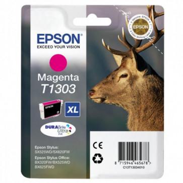 Originale Epson C13T13034010 Cartuccia inkjet ink pigmen.blister RS Durab.Ult./Cervo-Xl T1303 magenta