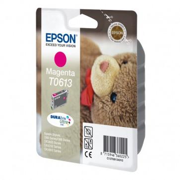 Originale Epson C13T06134010 Cartuccia inkjet ink pigmentato blister RS DURABRITE ULTRA magenta
