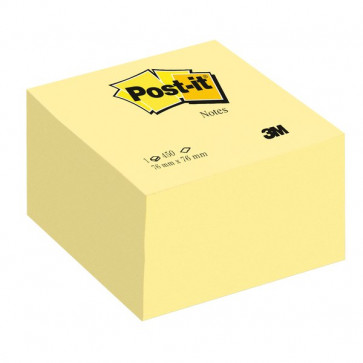Post-it® Cubo Giallo Canary 636-B 76x76 mm giallo canary 636-B