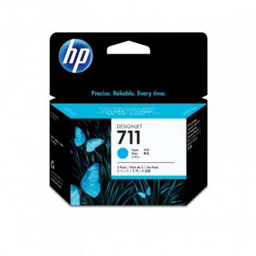 Originale HP CZ134A Conf. 3 cartucce 711 ciano