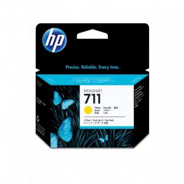 Originale HP CZ136A Conf. 3 cartucce 711 giallo