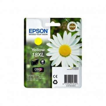 Originale Epson C13T18144010 Cartuccia A.R. RS Claria Home 18XL/MARGHERITA giallo