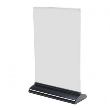 Porta-avvisi bifronte in acrilico Deflecto A4 verticale 21,9x7,8x33,1 cm 58440