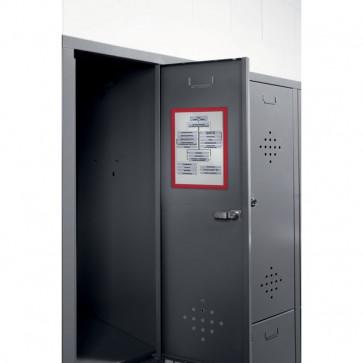 Cornice magnetica Durable A4 rosso 4869-03 (conf.5)