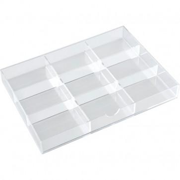 Divisori per cassettiera in acrilico a 3 cassetti Tecnostyl trasparente 9 K9ACRD040