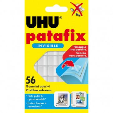 Gomma adesiva UHU® Patafix UHU trasparente D1601 (conf.56)