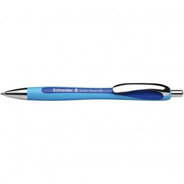 Penna a sfera a scatto Slider Rave Schneider blu P132503