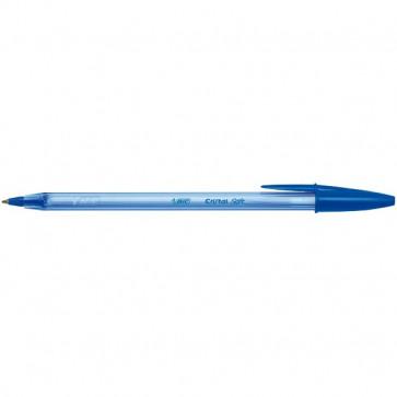 Penna a sfera Cristal Soft Easy Glide Bic Blu 918519 (conf.50)