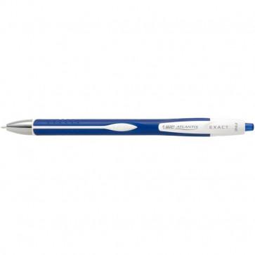 Penna a sfera a scatto Atlantis Exact Bic blu 918505
