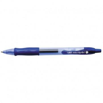 Penna a sfera a scatto Velocity Gel Bic blu 829158