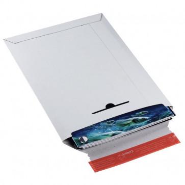 Busta in cartone rigido Colompac bianco 23,5x31x3 cm 24x31,5 cm CP012.03 (conf.100)