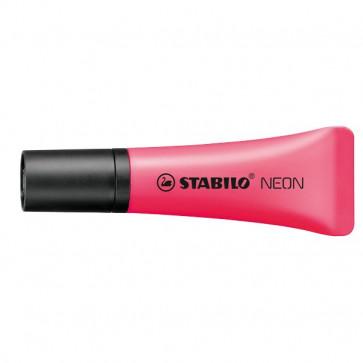 Evidenziatore NEON Stabilo 2-5 mm rosso- 72/56 (conf.10)