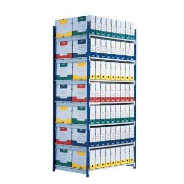 Scaffalatura ad incastro RANG'ECO Paperflow Scaffale H200 x L125 x P70 5 K607170