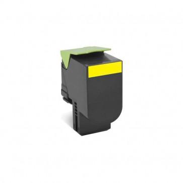 Originale Lexmark 80C2HY0 Toner A.R. 802HY giallo