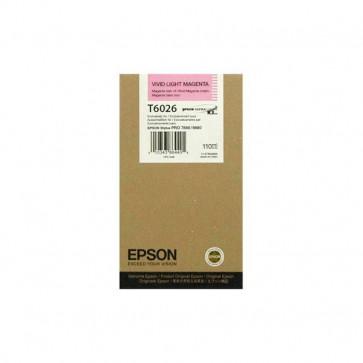 Originale Epson C13T602600 Cartuccia ULTRACHROME K3 T6026 magenta chiaro