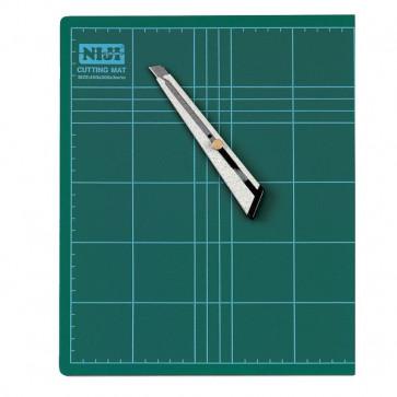 Piano da taglio Niji 60x45x0,3 cm verde doppio spessore CM-60