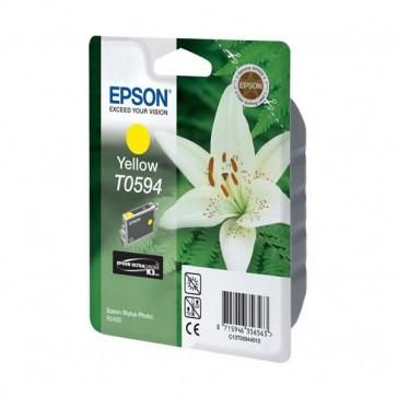 Originale Epson C13T05944020 Cartuccia blister RS+RF ULTRACHROME K6 T0594 giallo