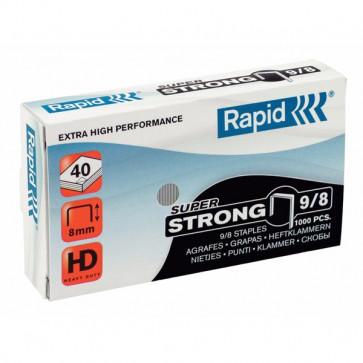 Punti per alti spessori Rapid Punti metallici 9/8 Super Strong 10-50 ff 24871000 (conf.5000)