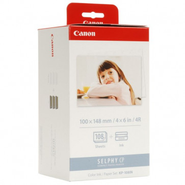 Originale Canon 3115B001 Kit TTR + carta KP-108IN colore