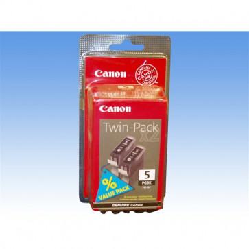 Originale Canon 0628B030 Conf. 2 serbatoi inchiostro blister PGI-5BK nero