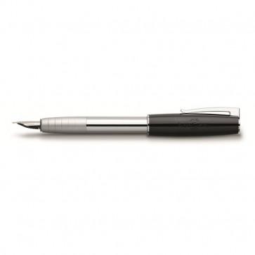 Penna stilografica Linea LOOM PIANO Faber Castell nero 149250