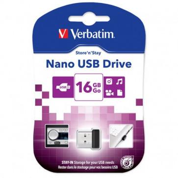 Chiavette USB Verbatim Store'n Stay NANO 16 GB USB 2.0 97464