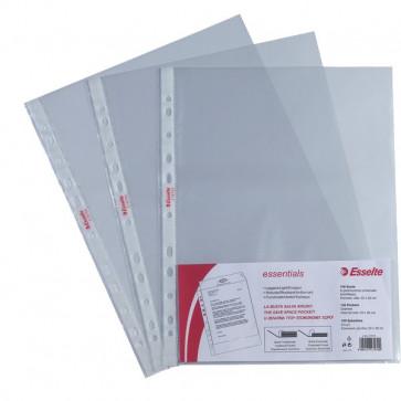 Buste perforazione universale Copy Safe Esselte 22x30cm -goffrata antiriflesso- 392797000 (conf.100)