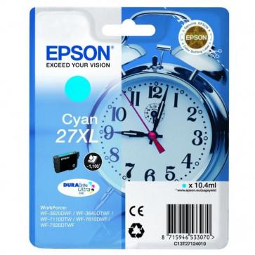 Originale Epson C13T27124010 Cartuccia inkjet 27XL ml. 10,4 ciano