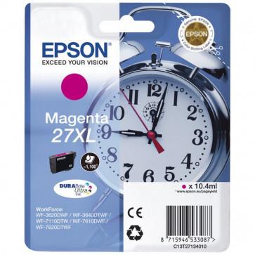 Originale Epson C13T27134010 Cartuccia inkjet 27XL ml. 10,4 magenta