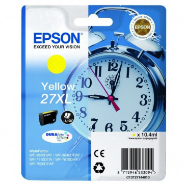 Originale Epson C13T27144010 Cartuccia inkjet 27XL ml. 10,4 giallo