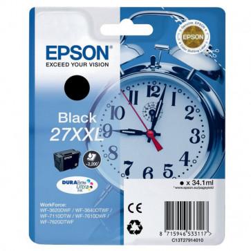 Originale Epson C13T27914010 Cartuccia inkjet alta capacità 27XXL ml. 34,1 nero