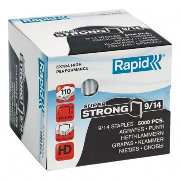 Punti per alti spessori Rapid Punti metallici 9/14 Super Strong 24871500 (conf.5000)