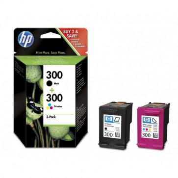 Originale HP CN637EE Conf. 2 cartucce inkjet 300 nero +tricromia