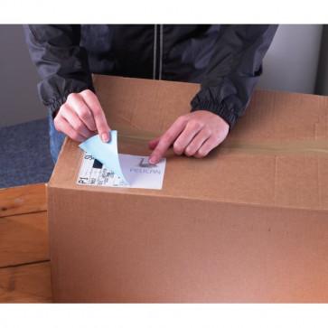 Etichette bianche ecologiche BlockOut™ x pacchi FSC Avery 99,1x93,1 mm 6 L7166-100 (conf.100)