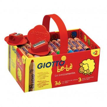 Schoolpack Supermatitoni Giotto Be-bè 7 mm da 2 anni in poi 4613 00 (conf.36)