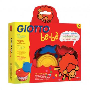 Set Colori a Dita Giotto Be-bè assortiti 7 pezzi da 2 anni 460700 (conf.7)