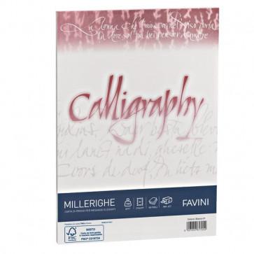 Calligraphy Millerighe Rigato Favini bianco fogli A4 100 g A690224 (conf.50)