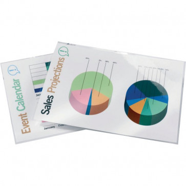 Pouches per plastificatrici GBC 125 micron per lato A5 3200749 (conf.100)