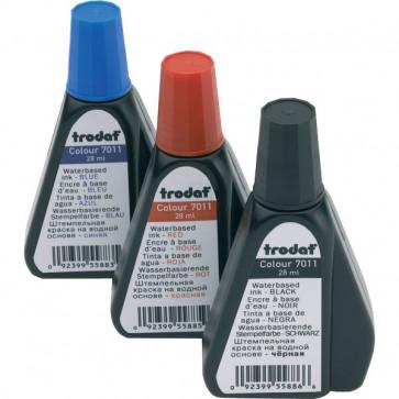 Inchiostro per timbri 7011 Trodat rosso 28 ml TR7830