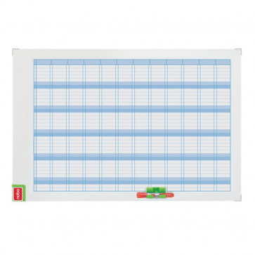 Planning magnetico Performance Nobo annuale 60x90 cm 3048001