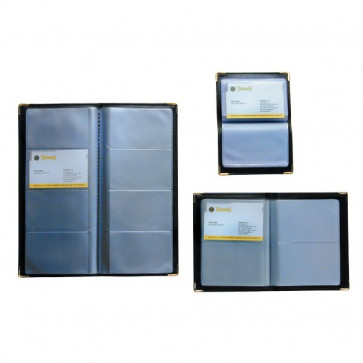 Portabiglietti da visita tascabili Tecnostyl 64 posti 11x14 cm NC64