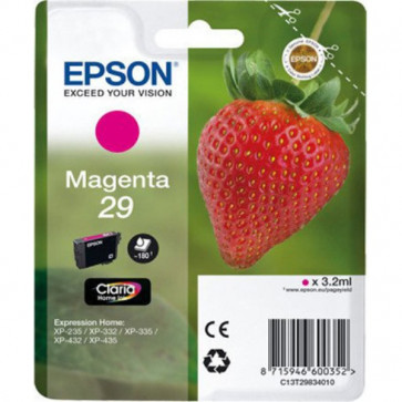 Originale Epson C13T29834010 Cartuccia blister RS Claria Home T29/FRAGOLA 3.2 ml