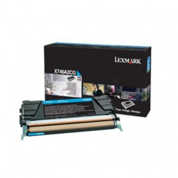 Originale Lexmark X746A3CG Toner X746, X748 ciano