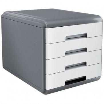 Accessori Da Scrivania My Desk Arda Cassettiera 29,5X38,5X28,2 Cm Bianco 18P4Pb
