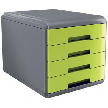 Accessori Da Scrivania My Desk Arda Cassettiera 29,5X38,5X28,2 Cm Verde 18P4Pv