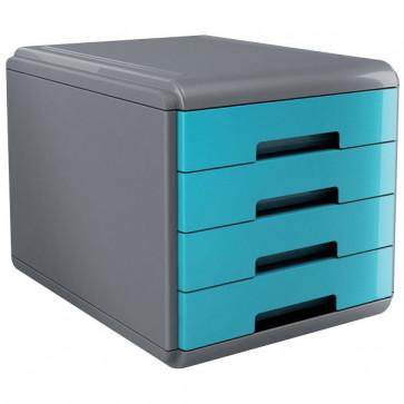 Accessori Da Scrivania My Desk Arda Cassettiera 29,5X38,5X28,2 Cm Turchese 18P4Ptu