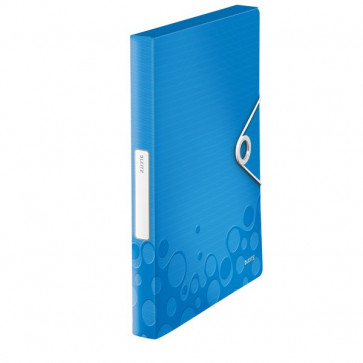 Cartella Progetti In Pp Wow Leitz Blu Metallizzato 46290036